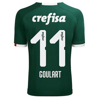 Camisa Palmeiras I 19 20 Goulart nº 11 - Torcedor Puma Masculina 47f66c8304892