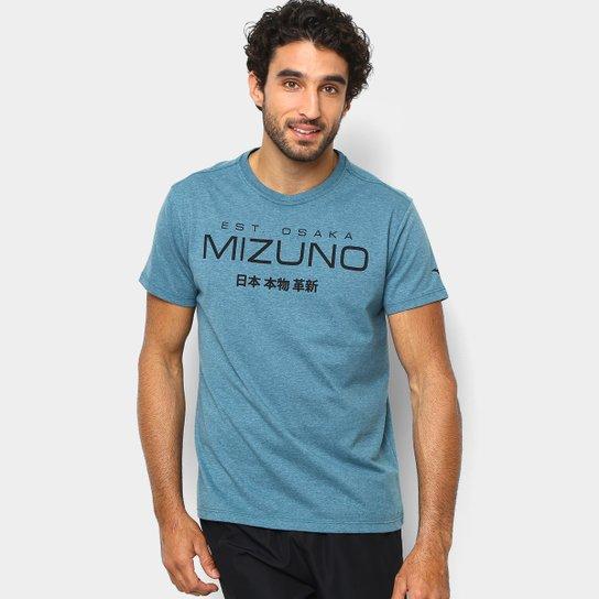 0eaf87ae9c0e1 Camiseta Mizuno 1906 Kori Masculina - Verde e Preto - Compre Agora ...