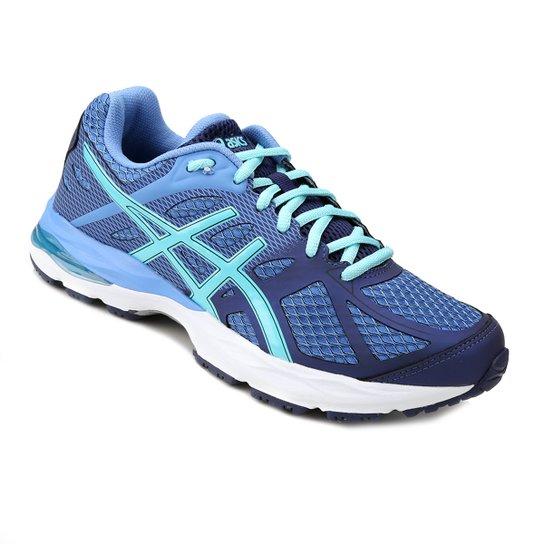 Tênis Asics Gel Spree Feminino - Azul e Marinho - Compre Agora ... 646a1d565d476