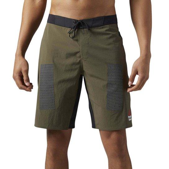 Short Reebok Crossfit Kevlar Masculina - Verde - Compre Agora  fdfa3e04b03fc