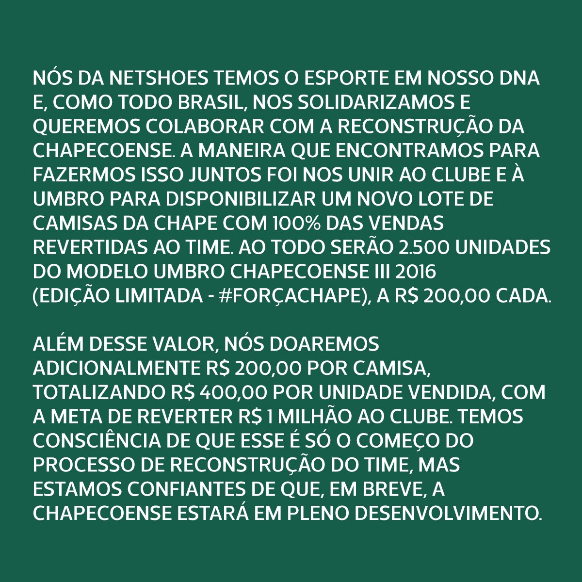 210afd3db4 Camisa Chapecoense III 16/17 s/nº Torcedor Umbro Masculina - Tam ...