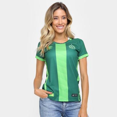 94ff93445 Camisa Chapecoense III 16 17 s nº Torcedor Umbro Feminina