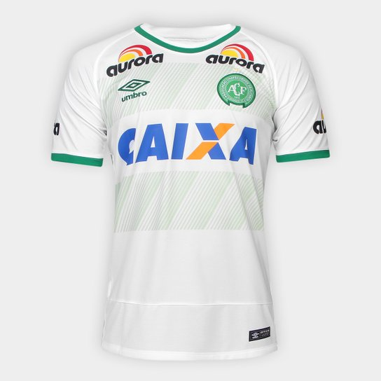 38c07f61d5f65 Camisa Chapecoense II 16/17 nº10 Torcedor Umbro Masculina   Netshoes