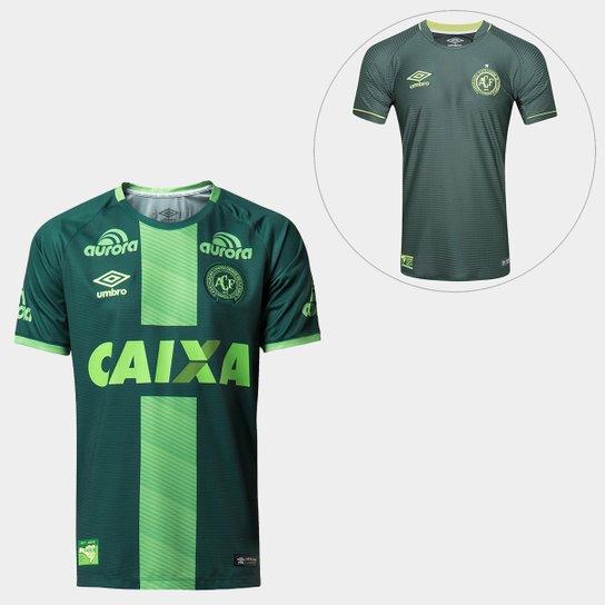 a531aad9ec Kit Camisa Chapecoense III 16 17 + Camisa Libertadores - Verde ...