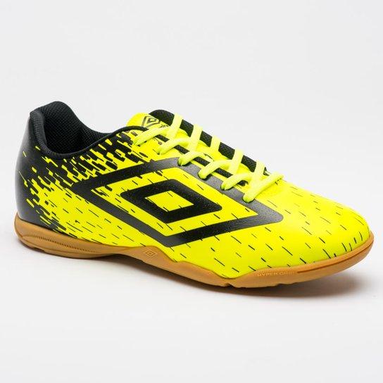 1c36365746d0f Chuteira Futsal Umbro Acid - Verde e Preto | Netshoes