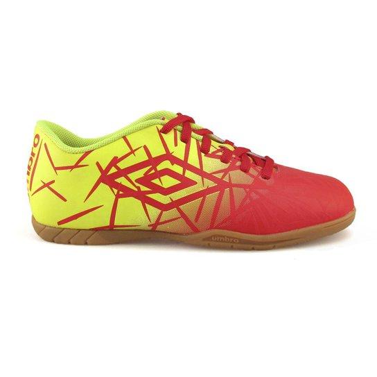 26f58071274b3 Chuteira Futsal Umbro Grass Masculina - Laranja e Verde - Compre ...