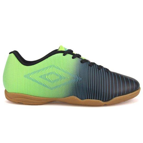 7257c76319d3c Chuteira futsal Umbro Vibe Masculino - Verde e Preto - Compre Agora ...