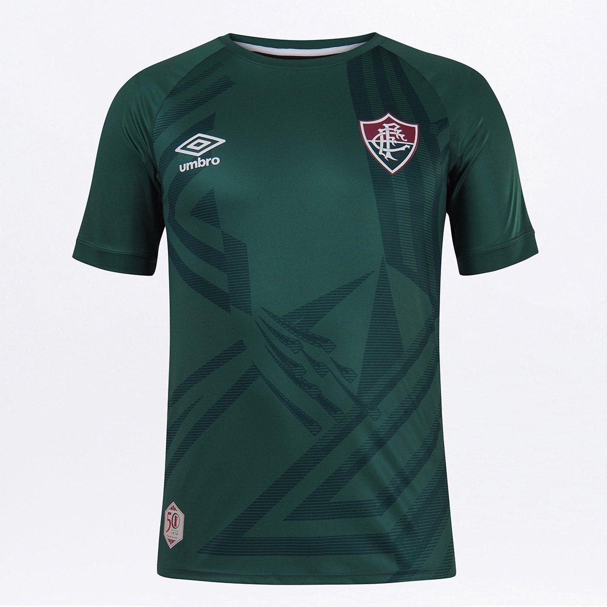Camisa de Goleiro Fluminense 20/21 n° 1 Umbro Masculina
