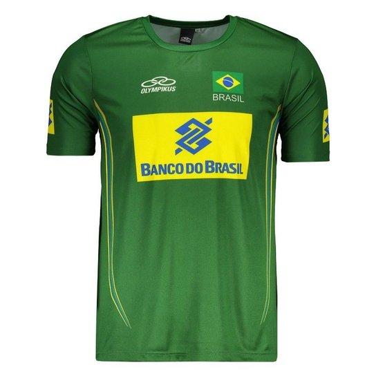 453b13d56c223 Camisa Olympikus Brasil Vôlei CBV 2014 Masculina - Compre Agora ...