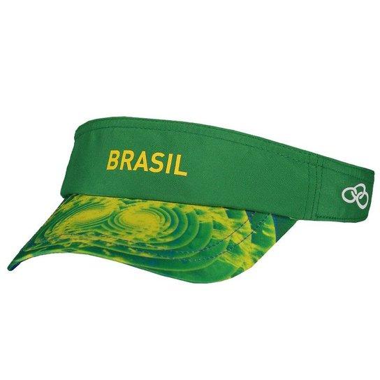 2e0e254e8378e Viseira Olympikus Brasil Vôlei CBV 2016 | Netshoes