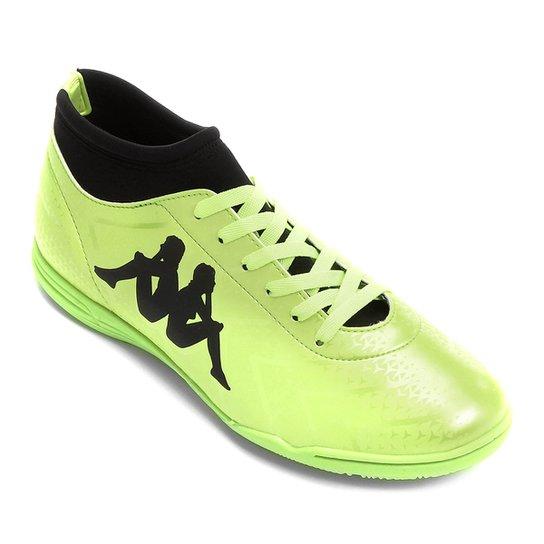 aed82f1863 Chuteira Futsal Kappa Údine - Verde e Preto - Compre Agora
