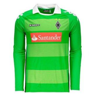 4f3449405f5b0 Camisa Kappa Borussia Monchengladbach Away 2014 Masculina