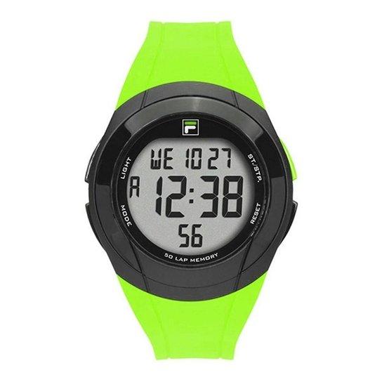 784da4e6b Relógio Fila Digital Masculino - Verde - Compre Agora