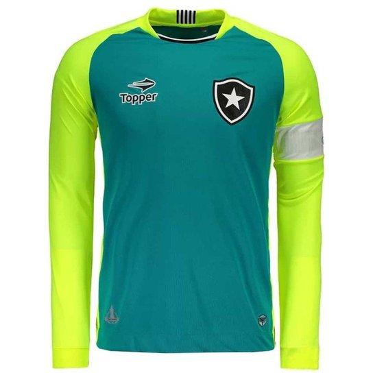 Camisa Masculina Topper Botafogo Goleiro Jefferson - Compre Agora ... cfa5ccf669f