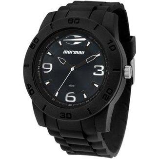 Relógio Masculino Mormaii Acqua MO2036AE 8A 46mm Preto Pulseira Resina eaf94f0927