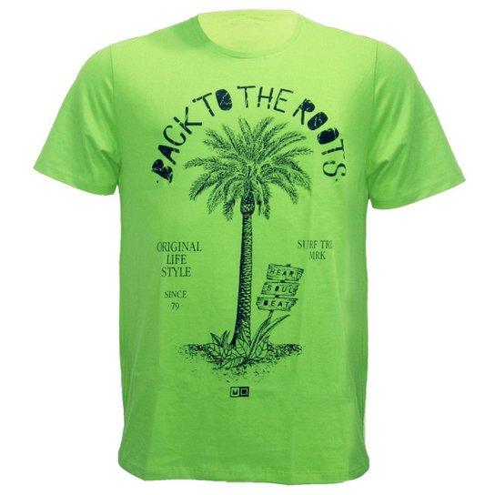 Camiseta Mormaii 7 Foots To Summer - Verde - Compre Agora  4cb7b3c6351f5