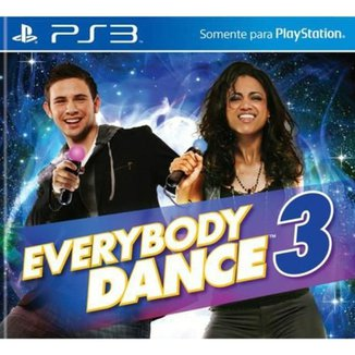 Game Ps3 Everybody Dance 3