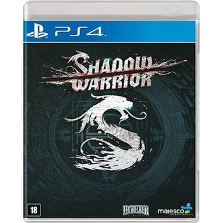 Game Ps4 Shadow Warrior