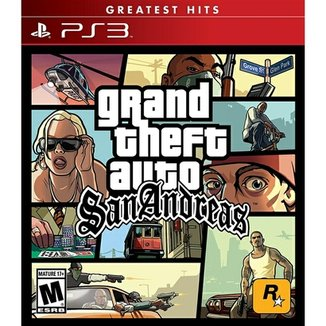 Grand Theft Auto: San Andreas Greatest Hits - Ps3
