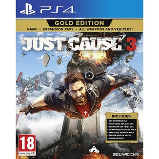 Just Cause 3 Gold Edition (Europeu) - Ps4
