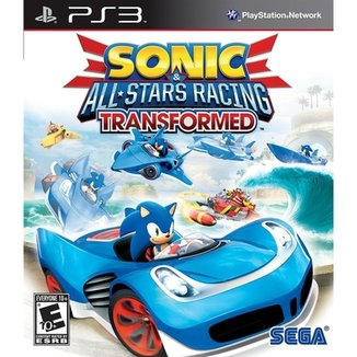 Sonic And All-Stars Racing Transformed - Ps3