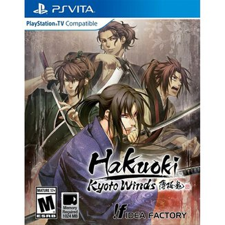 Hakuoki Kyoto Winds - Ps Vita
