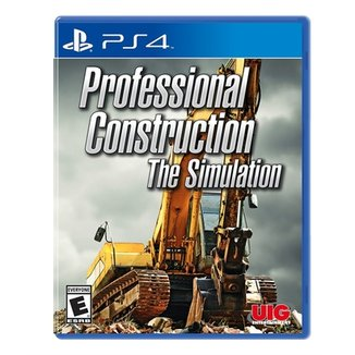 Professional Construction - Simulator - Ps4