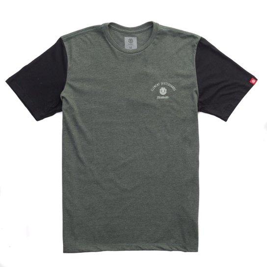 Camiseta Masculina Element Skate Americana - Compre Agora  13a374b3e27