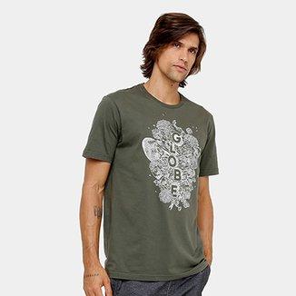 Camiseta Globe Básica Moht And Bones Masculina 1ed0fe6cc52