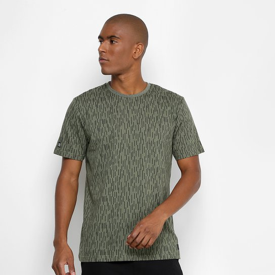 371512e69 Camiseta Globe Básica Full Print Masculina - Verde | Netshoes