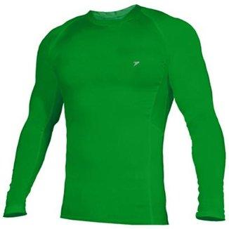 Camisa Poker T-shirt Manga Longa Skin Basic 644b41fbd1c