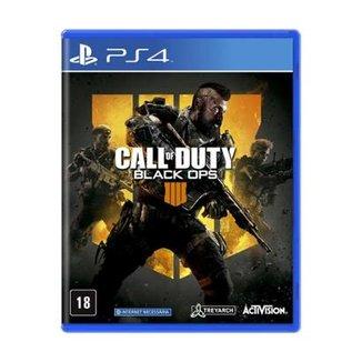 a64b55bcfa493 Jogo Call of Duty  Black Ops 4 - PS4