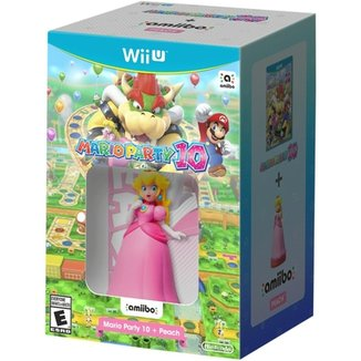 Mario Party 10 + Amiibo Peach - Wii U