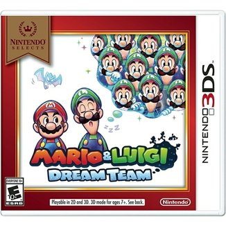 Nintendo Selects: Mario And Luigi Dream Team - 3Ds