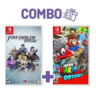 Combo Super Mario Odyssey + Fire Emblem Warriors -