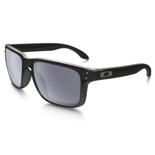 Óculos Oakley Holbrook Polarizado Black Grey - Compre Agora   Netshoes cd5db93836