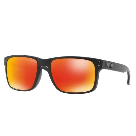 Óculos Oakley Holbrook matte Black Ruby - Compre Agora   Netshoes f55fe2de6c