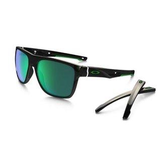4acdcb2335077 Óculos Oakley Crossange XL Jade Iridium Polished Black