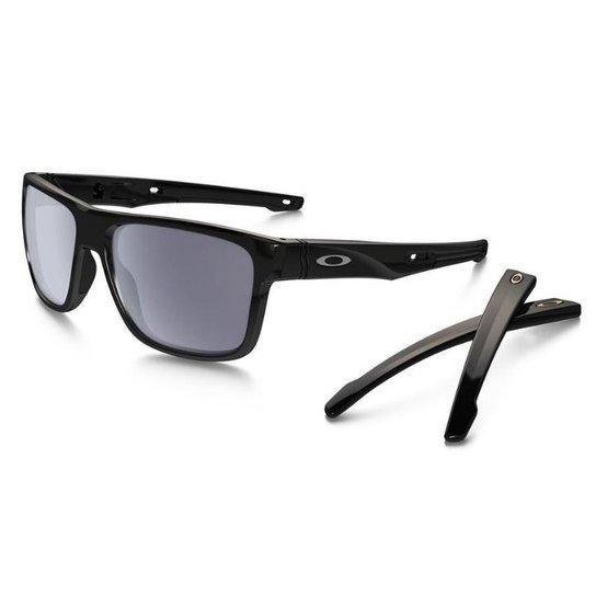 1b9d1ebfc3a51 Óculos Oakley Crossrange Grey Polished Black - Compre Agora