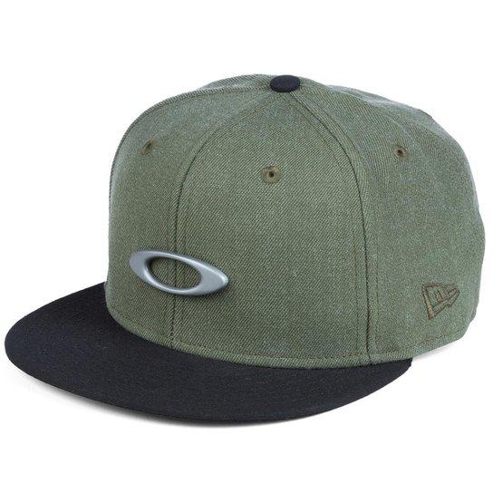 d30987cc1d416 Boné Oakley O-Justable Metal Cap New Era - Verde - Compre Agora ...