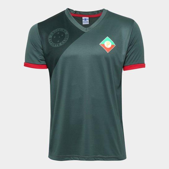 Camisa Retrô Cruzeiro Palestra Itália Masculina - Verde - Compre ... a02fe125715fd