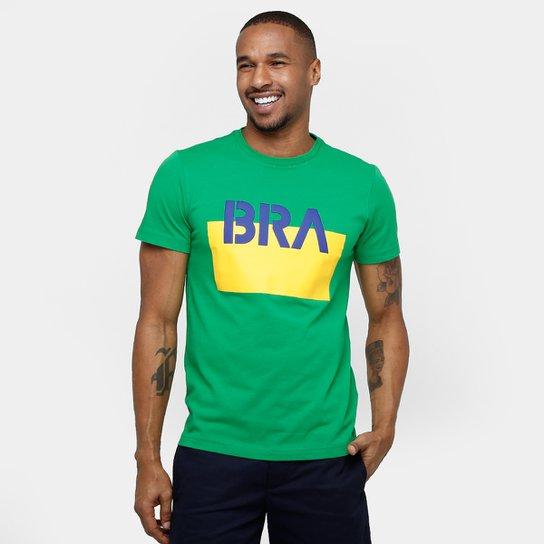 6b03d96815d Camiseta Lacoste Brasil - Compre Agora