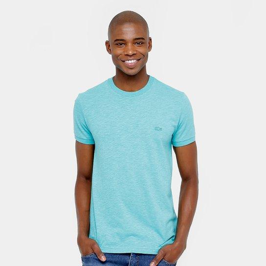 a5c448dc50e Camiseta Lacoste Color Básica Masculina - Compre Agora