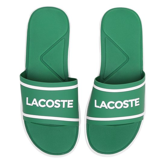 Chinelo Slide Lacoste Masculino - Compre Agora   Netshoes f0d76a51ee