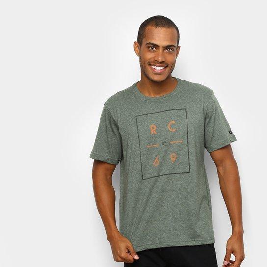 9f77792954f18 Camiseta Rip Curl 69 Masculina - Verde - Compre Agora   Netshoes