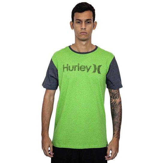 Camiseta Hurley O O Push Through - Verde - Compre Agora  830e3584aff