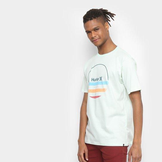 Camiseta Hurley Silk Banded Masculina - Verde - Compre Agora  c77ff6b378df6