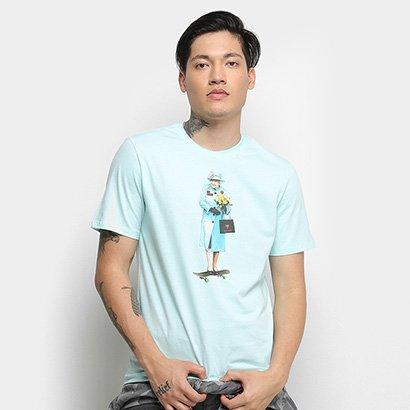 Camiseta Cavalera T Shirt Skate Queen Masculina