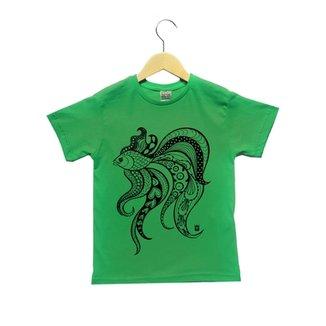 c4b8096b908 Camiseta Infantil Joss Peixe Beta Masculino