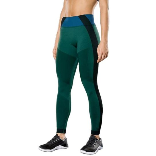 aaa2244de4b Calça Legging Lupo AF Leg. Mescla Feminina - Verde - Compre Agora ...